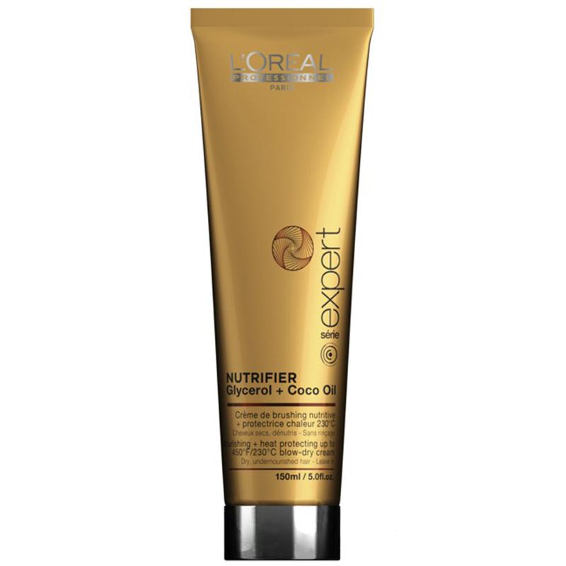 Термозащитный крем для волос L'Oreal Professionnel Expert Nutrifier Blow Dry увлажняющий 150 мл