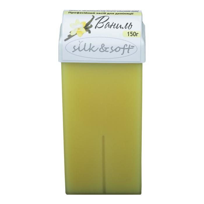 Сахарная паста в картридже Silk   Soft ваниль 150 г