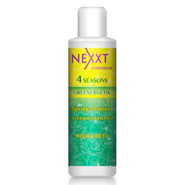 Купить Шампуни NEXXT Professional, Шампунь NEXXT Professional Vitamin Greenergetik 4 Сезона для восстановления и питания волос 200 мл