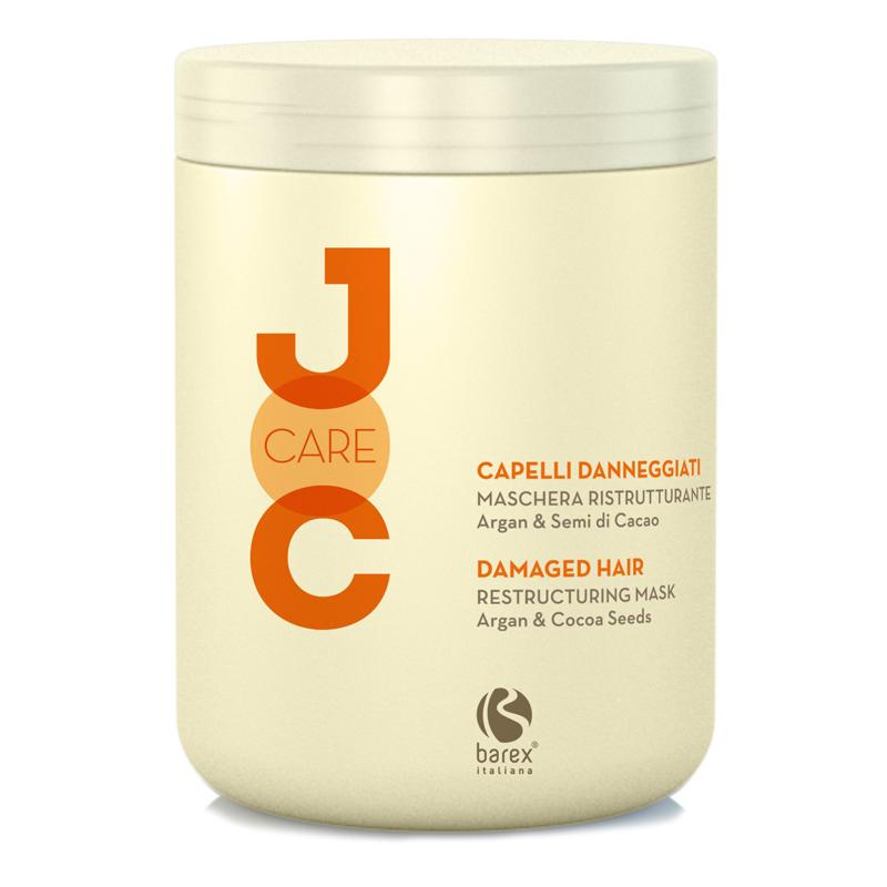 Купить Маски для волос Barex, Маска для волос Barex Joc Care глубокое восстановление с аргановым маслом и какао-бобами 1000 мл