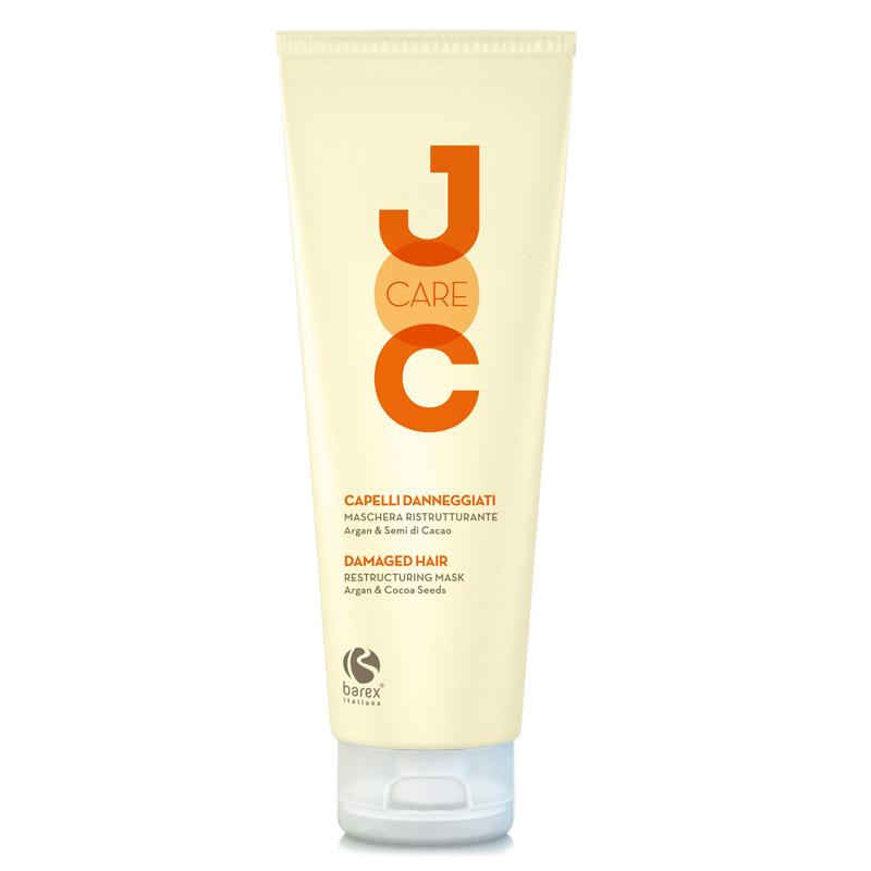 Купить Маски для волос Barex, Маска для волос Barex Joc Care глубокое восстановление с аргановым маслом и какао-бобами 250 мл
