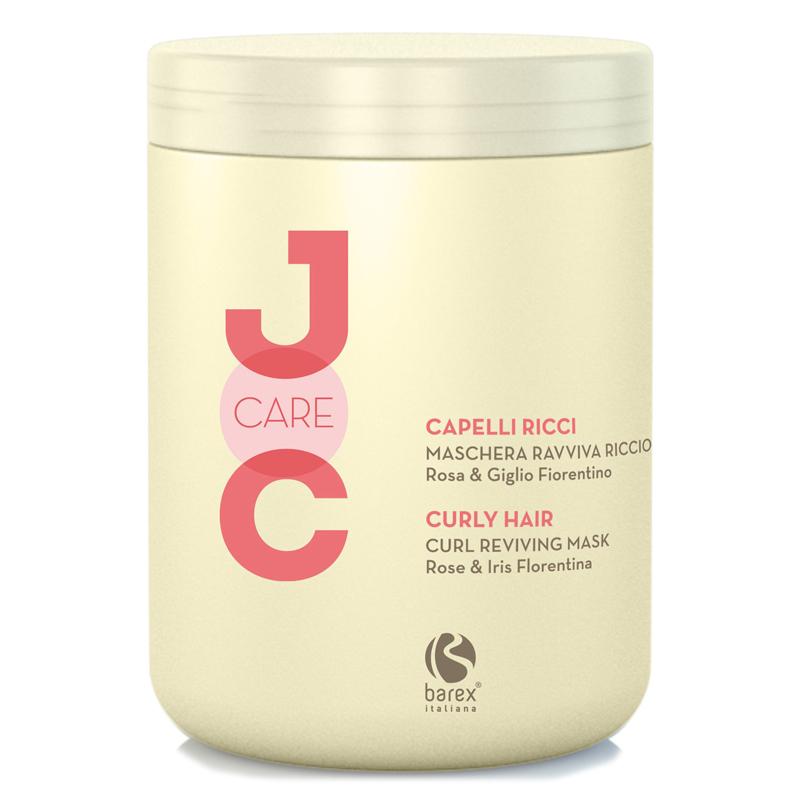 Купить Маски для волос Barex, Маска для волос Barex Joc Care идеальные кудри с экстрактом розы и флорентийской лилии 1000 мл