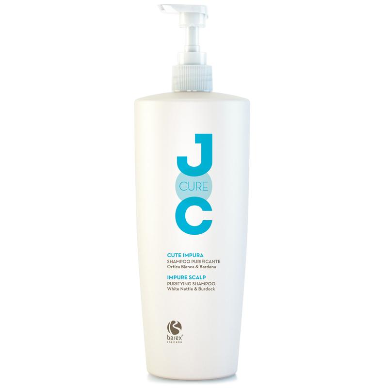 Купить Шампуни Barex, Очищающий шампунь Barex Joc Cure с экстрактом белой крапивы 1000 мл