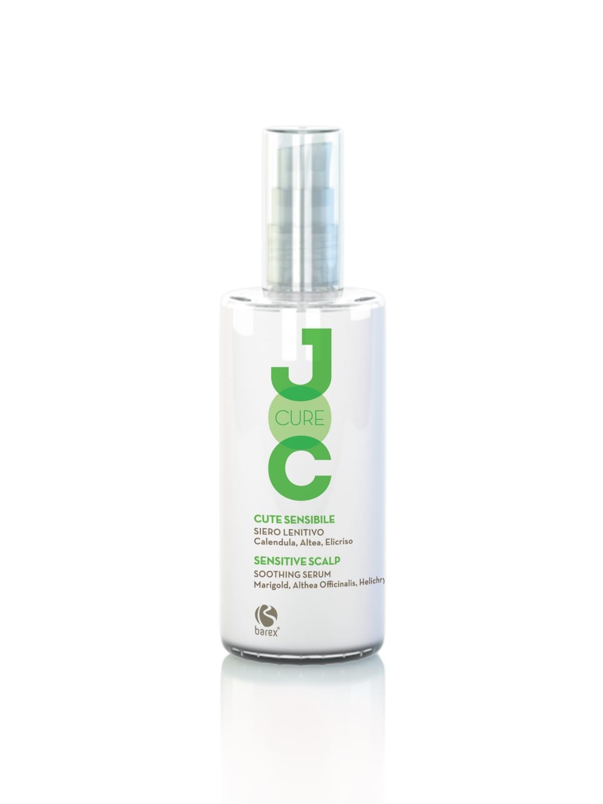 Купить Сыворотки, флюиды для волос Barex, Успокаивающая сыворотка для волос Barex Joc Cure с экстрактом календулы, алтея и бессмертника 100 мл