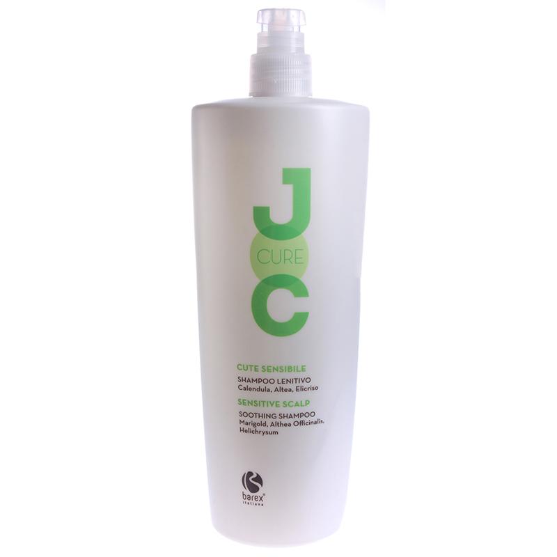 Купить Шампуни Barex, Успокаивающий шампунь Barex Joc Cure с экстрактом календулы, алтея и бессмертника 1000 мл
