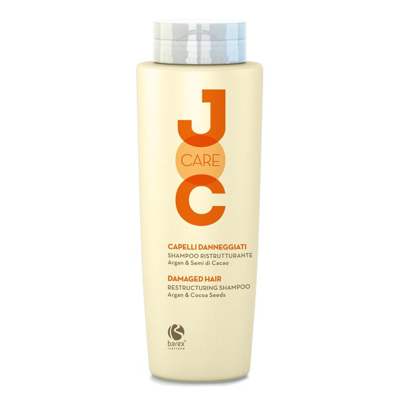 Купить Шампуни Barex, Шампунь Barex Joc Care Глубокое восстановление с аргановым маслом и какао-бобами 250 мл