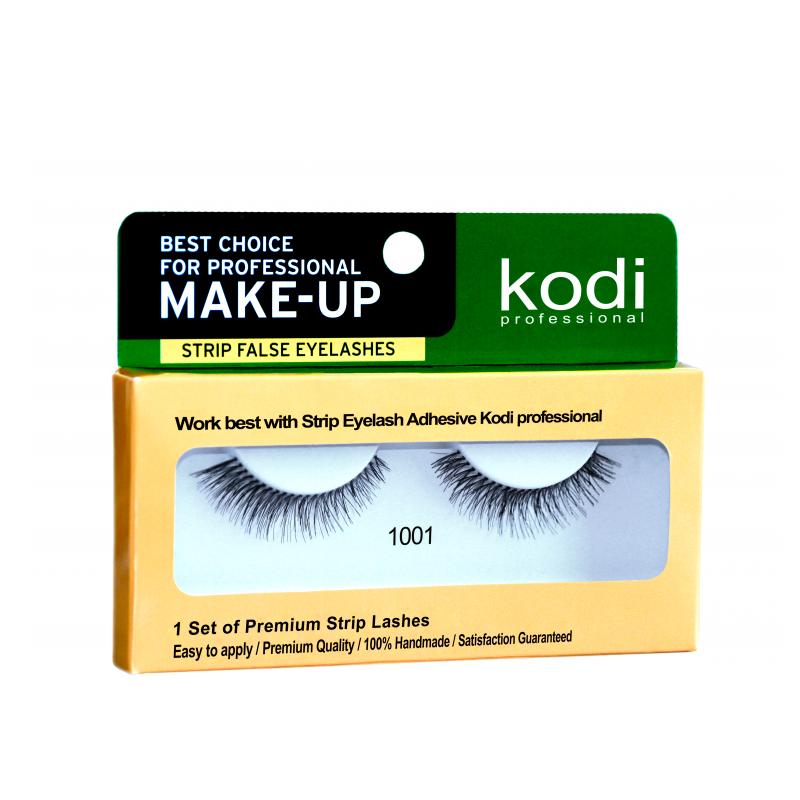 Купить Наращивание бровей и ресниц Kodi, Ресницы накладные ленточные Kodi 1001