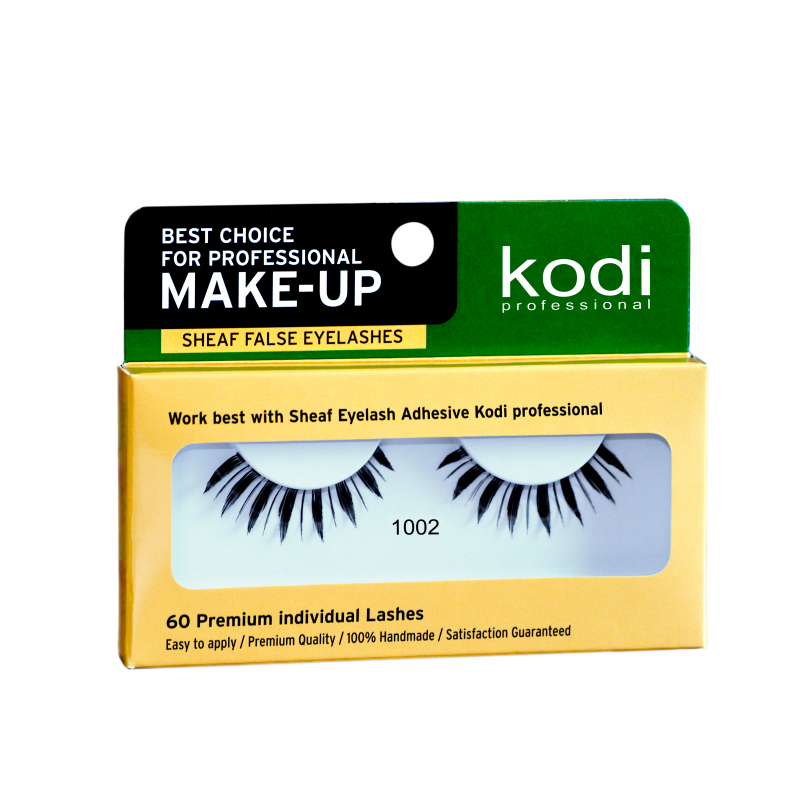 Купить Наращивание бровей и ресниц Kodi, Ресницы накладные ленточные Kodi 1002