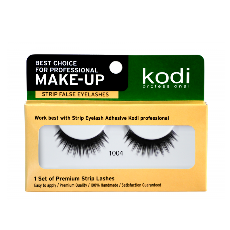 Купить Наращивание бровей и ресниц Kodi, Ресницы накладные ленточные Kodi 1004