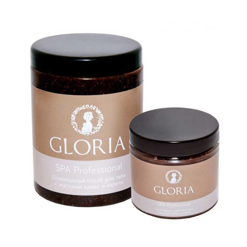 Купить Скрабы для тела Gloria, Скраб для тела Gloria шоколадный с маслами 1000 мл