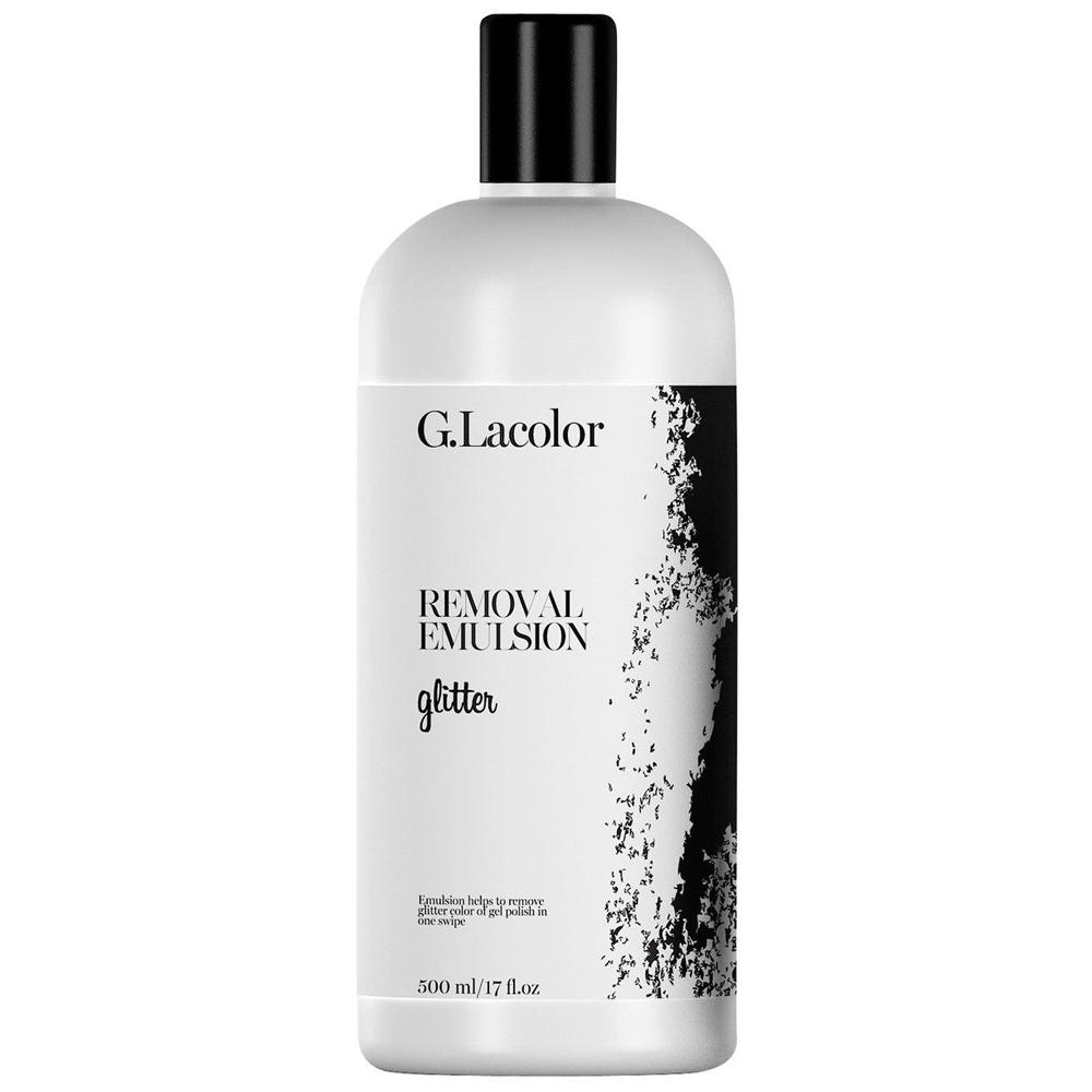 Купить Снятие гель-лака G.La color, Средство для снятия гель-лака G.La color Removal Emulsion Glitter G.La color 500 мл