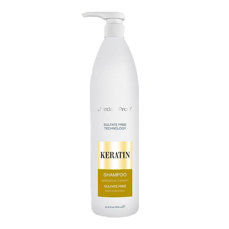 Купить Шампуни Jerden Proff, Безсульфатный шампунь для волос Jerden Proff с кератином 1000 мл