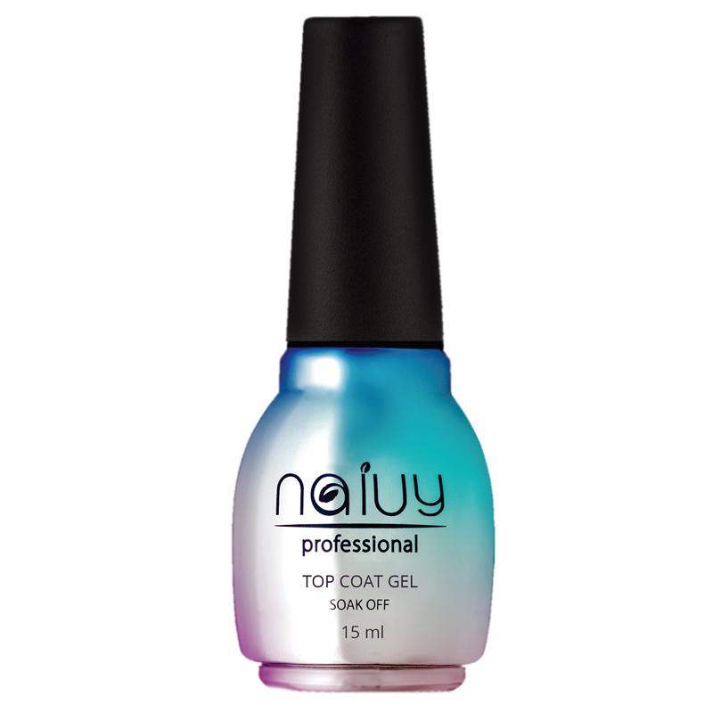 Купить Топовое покрытие для гель-лака Naivy Professional, Топовое покрытие Naivy Professional без липкого слоя 15 мл