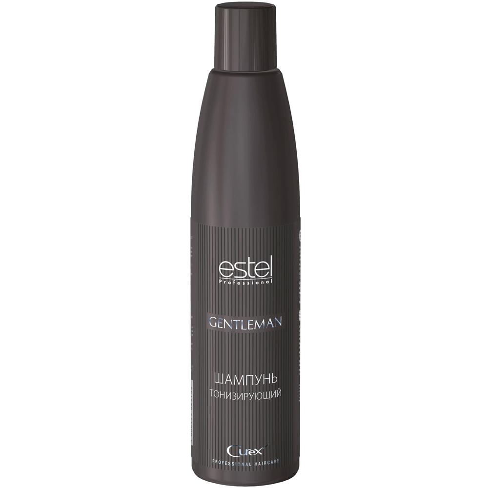 Купить Шампуни Estel, Тонизирующий шампунь для мужчин Estel Curex Gentleman 300 мл