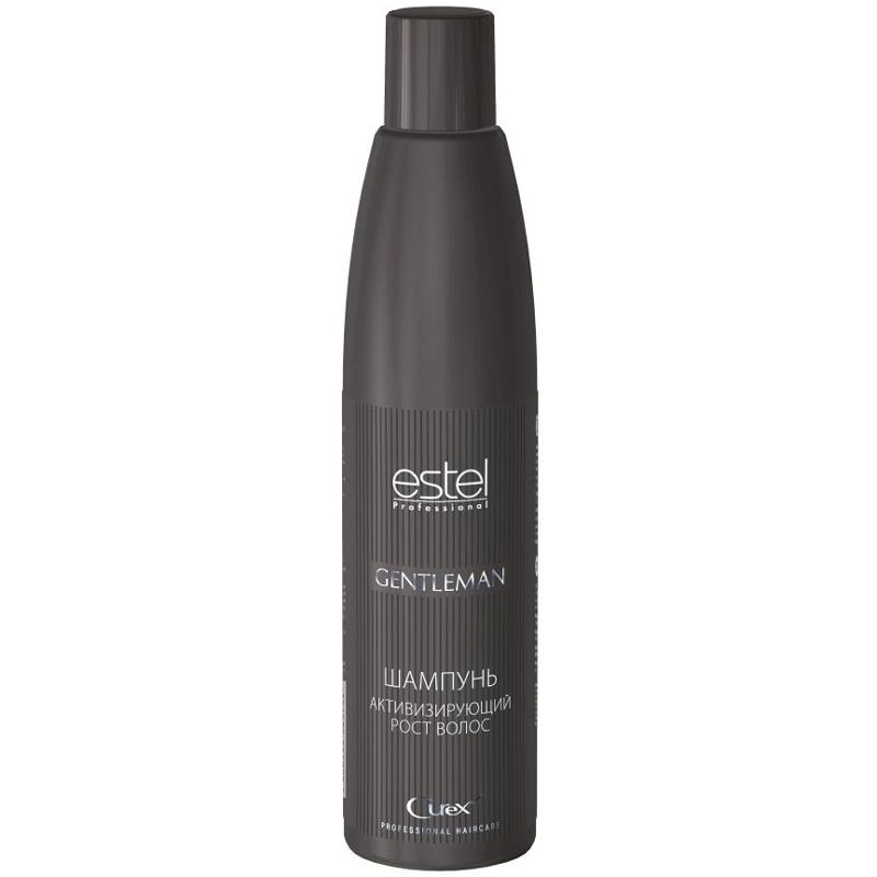Купить Шампуни Estel, Шампунь для мужчин Estel Curex Gentleman активизирующий рост волос 300 мл