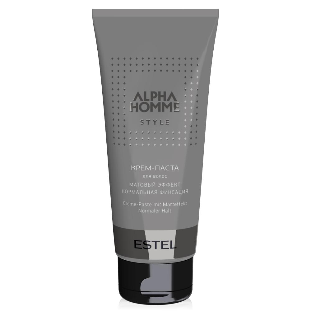 Купить Стайлинг Estel, Крем-паста для волос Estel Alpha Homme с матовым эффектом 100 г