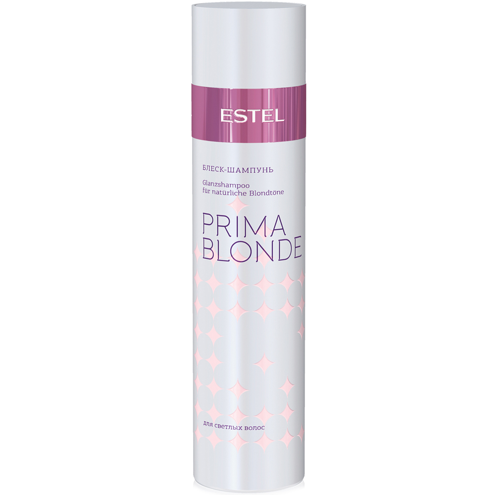 Купить Шампуни Estel, Блеск-шампунь Estel Prima Blonde для светлых волос 250 мл