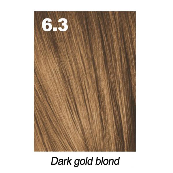Краска для волос Indola Permanent Caring Color 6.3 русый золотистый 60 мл