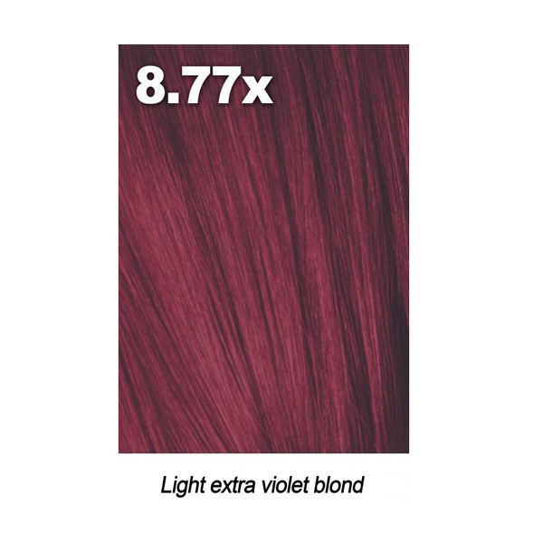 Купить Краска для волос Indola Indola, Краска для волос Indola Permanent Caring Color 8.77x светлый блонд экстра фиолетовый 60 мл
