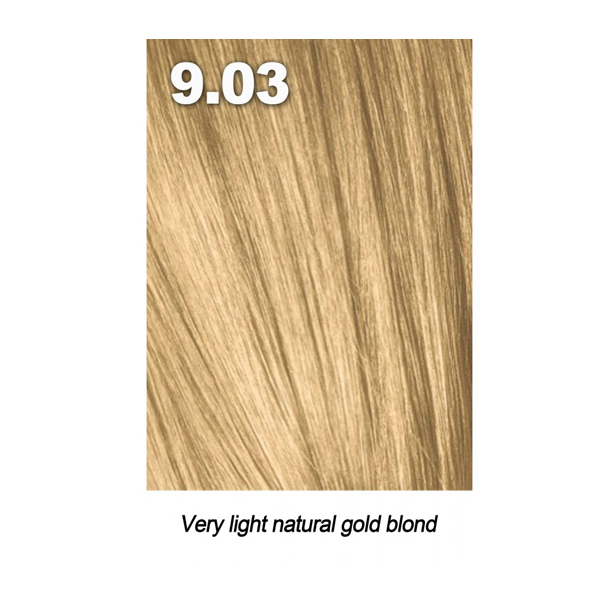 Купить Краска для волос Indola Indola, Краска для волос Indola Permanent Caring Color 9.03 очень светлый блонд натуральный золотистый 60 мл