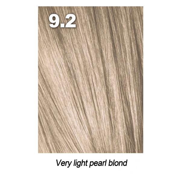 Купить Краска для волос Indola Indola, Краска для волос Indola Permanent Caring Color 9.2 очень светлый блонд перламутровый 60 мл