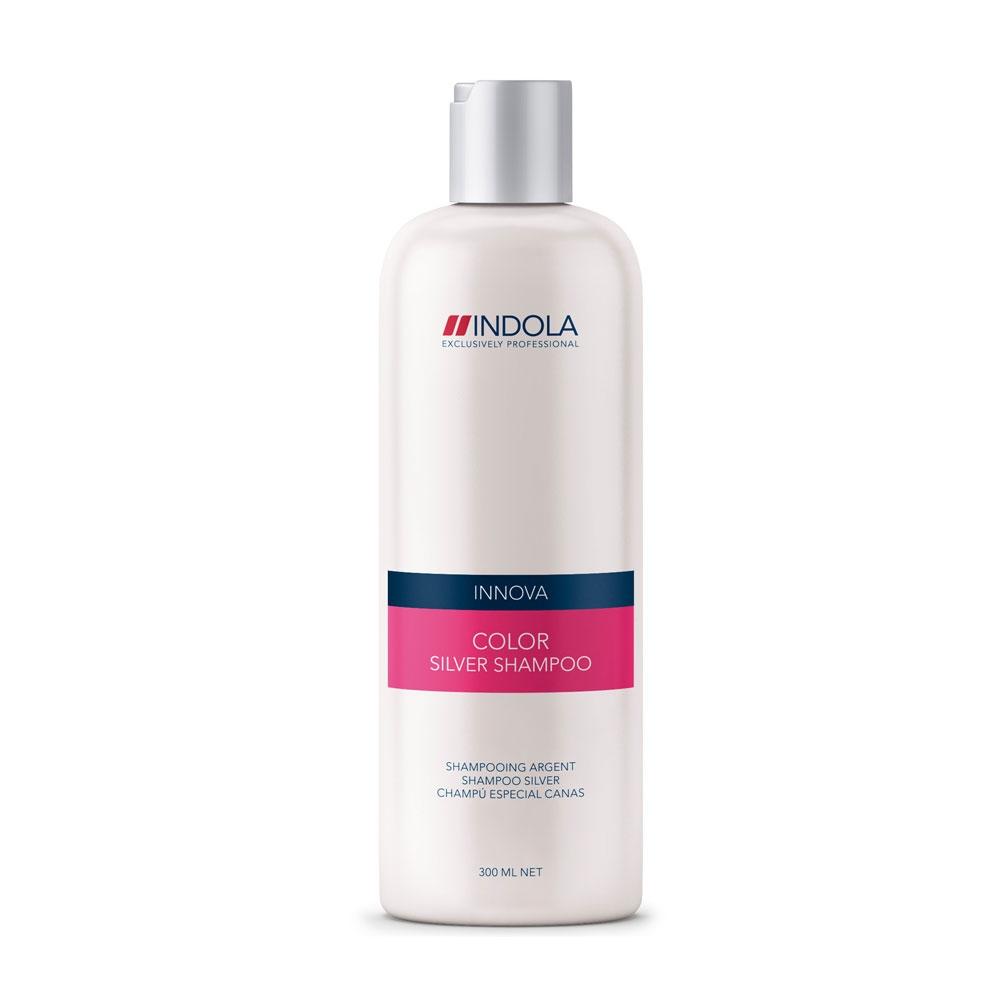 Купить Шампуни Indola, Шампунь Indola Innova Color Silver для окрашенных волос с серебристым эффектом 300 мл