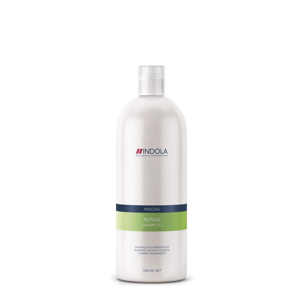 Купить Шампуни Indola, Шампунь Indola Innova Repair для восстановления поврежденных волос 1500 мл