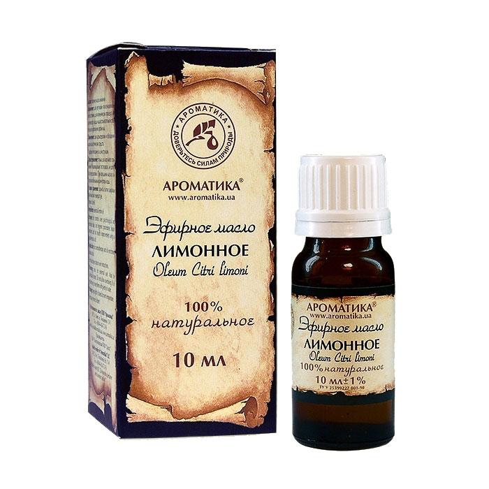 Купить Эфирные масла Ароматика, Эфирное масло Ароматика Лимонное 10 мл