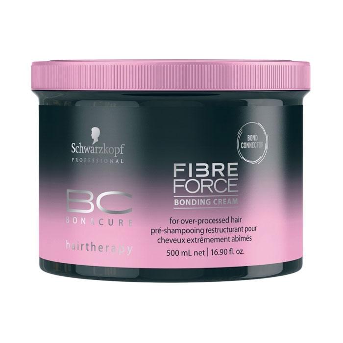 Купить Кремы для волос Schwarzkopf, Крем для волос Schwarzkopf Bonacure Fibre Force Bonding Cream укрепляющий 500 мл