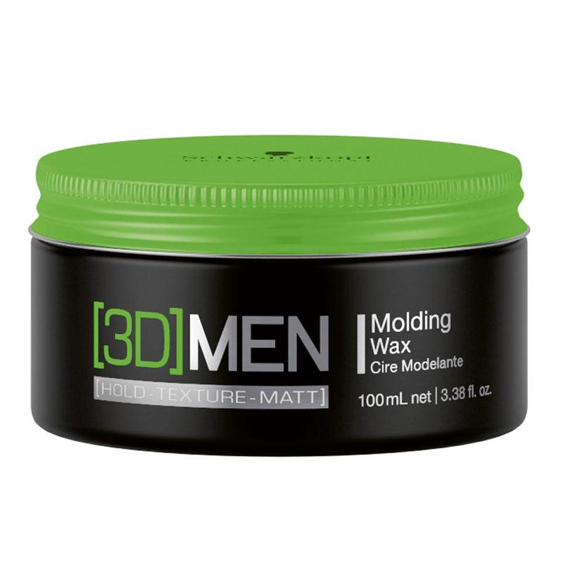 Купить Стайлинг Schwarzkopf, Моделирующий воск для волос Schwarzkopf 3D Men Molding Wax 100 мл