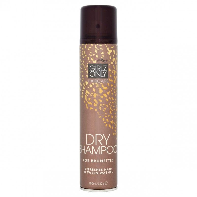 Сухие шампуни Girlz Only, Сухой шампунь Girlz Only Dry Shampoo Brunette 200 мл  - купить со скидкой