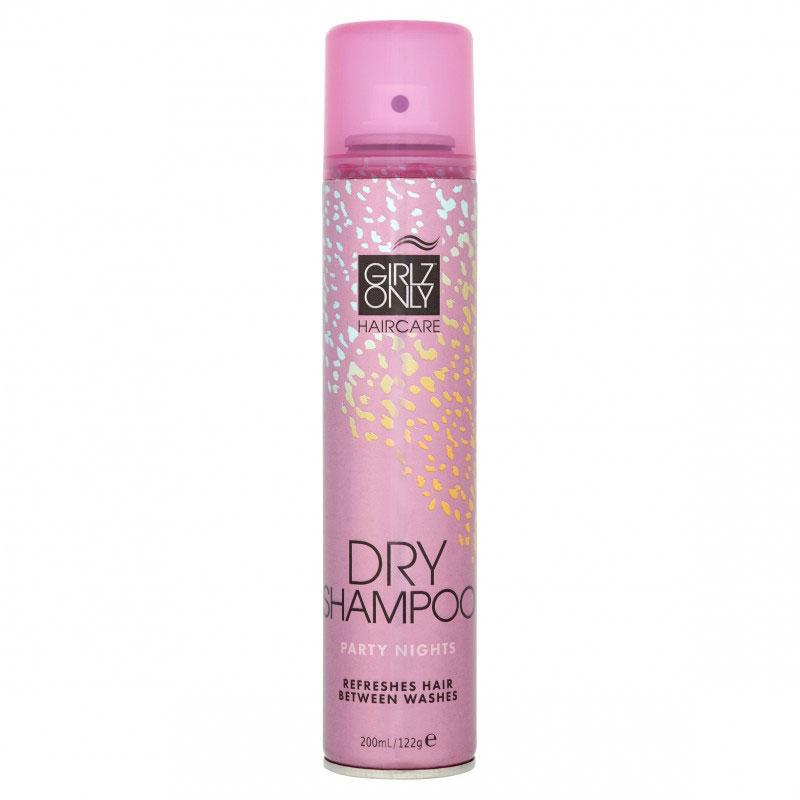 Купить Сухие шампуни Girlz Only, Сухой шампунь Girlz Only Dry Shampoo Party Nights 200 мл