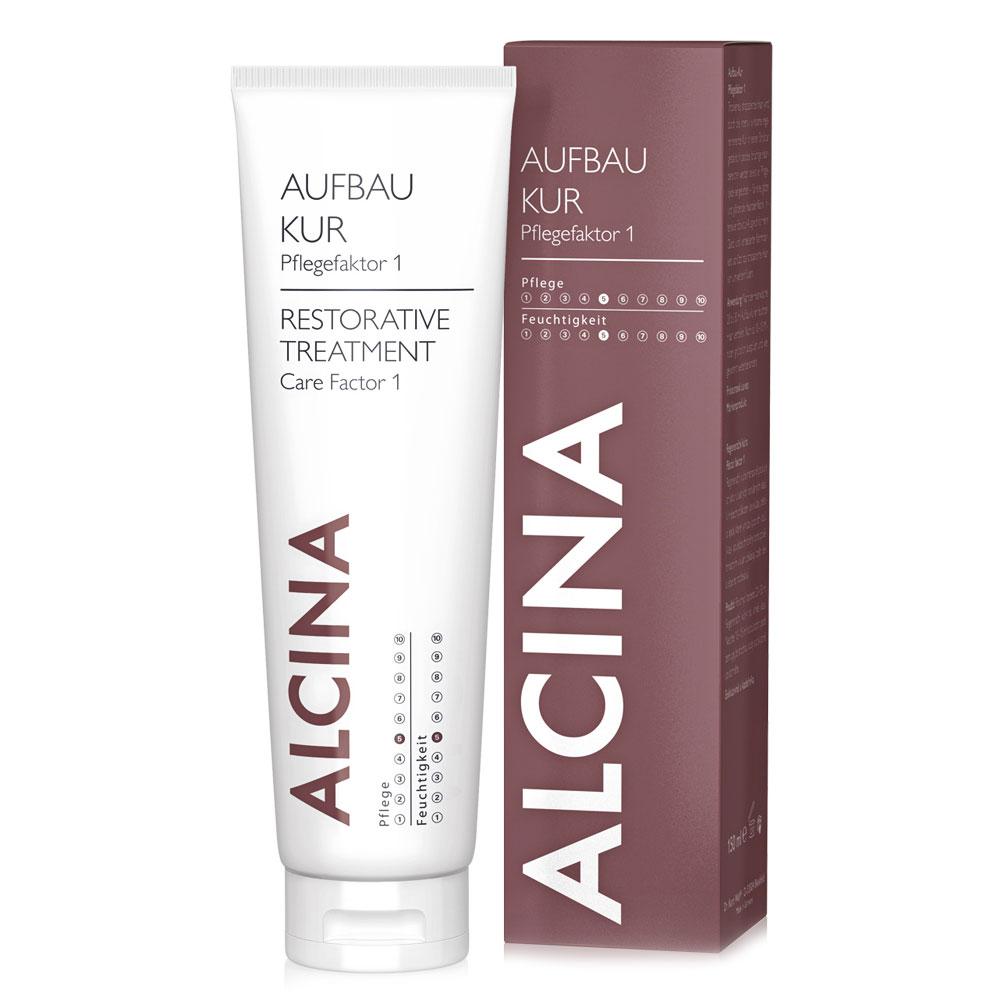 alcina Восстанавливающее лечение Alcina Care Factor 1 для поврежденных волос 150 мл