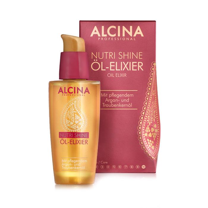 alcina Масло-эликсир Alcina Nutri Shine для всех типов волос 50 мл