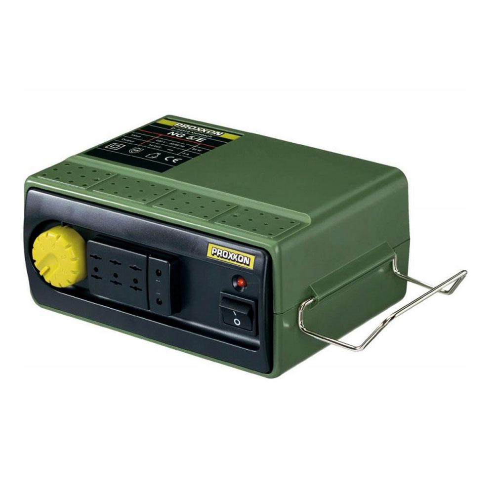 Купить Фрезеры для маникюра Proxxon, Сетевой адаптер Proxxon NG 5/Е, 220V— 12-16V; 5, 0 А с регулятором
