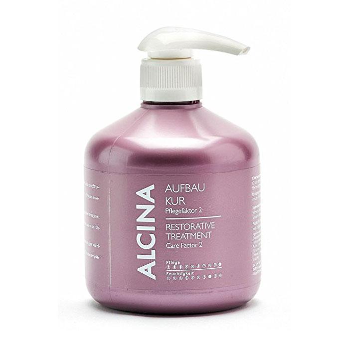 alcina Лечение-восстановление Alcina Care Factor 2 для поврежденных волос 500 мл