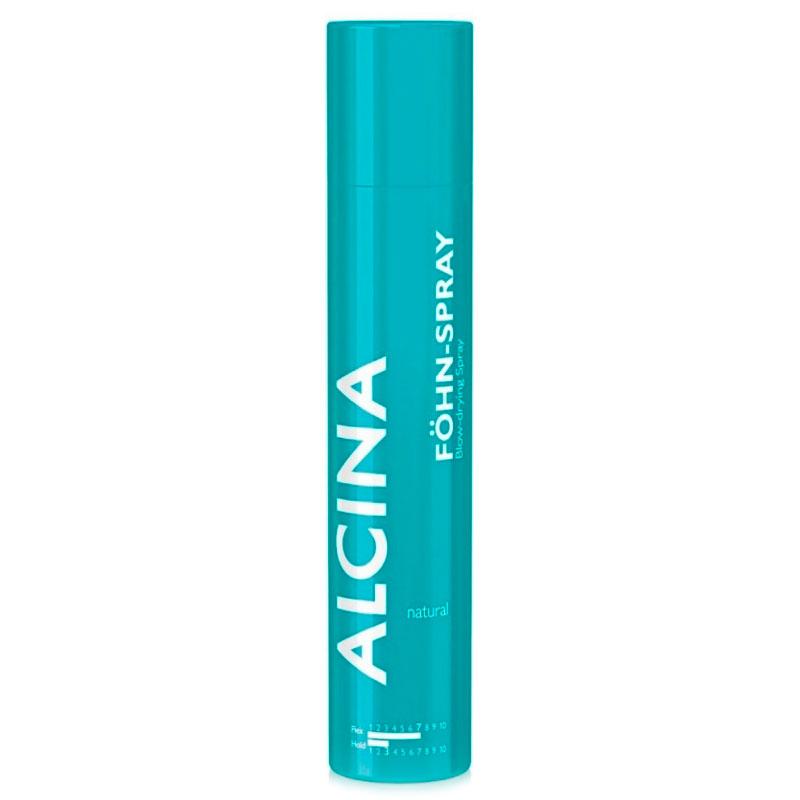 alcina Спрей-аэрозоль для волос Alcina Styling Natural Fohn-Spray Spray для укладки феном природной фиксации 200 мл