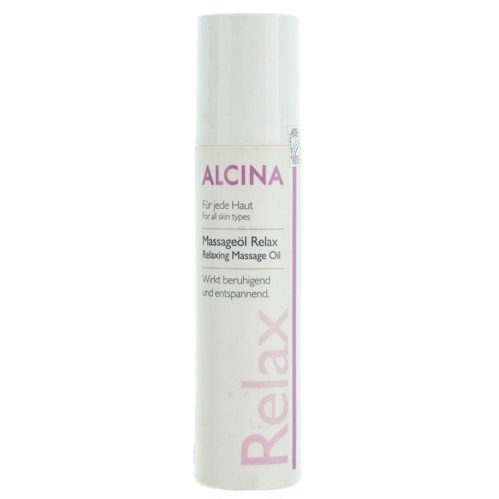 alcina Успокаивающее массажное масло Alcina Relax Massage Oil 200 мл