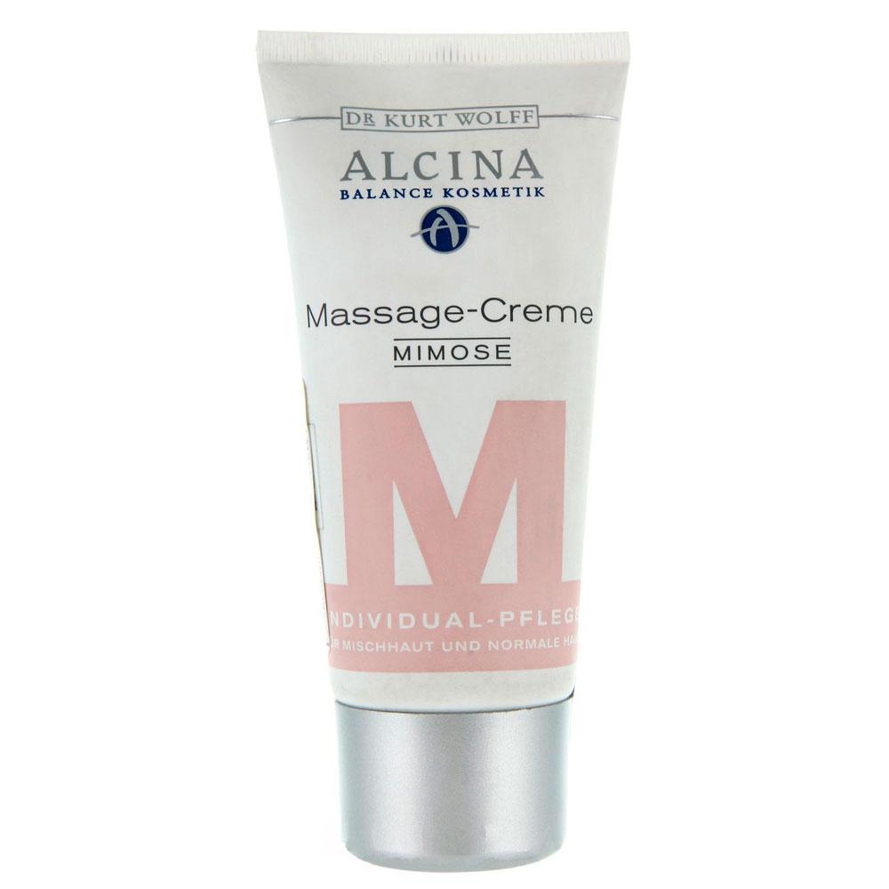 Массажный крем для лица Alcina М Massage Cream Mimose 50 мл