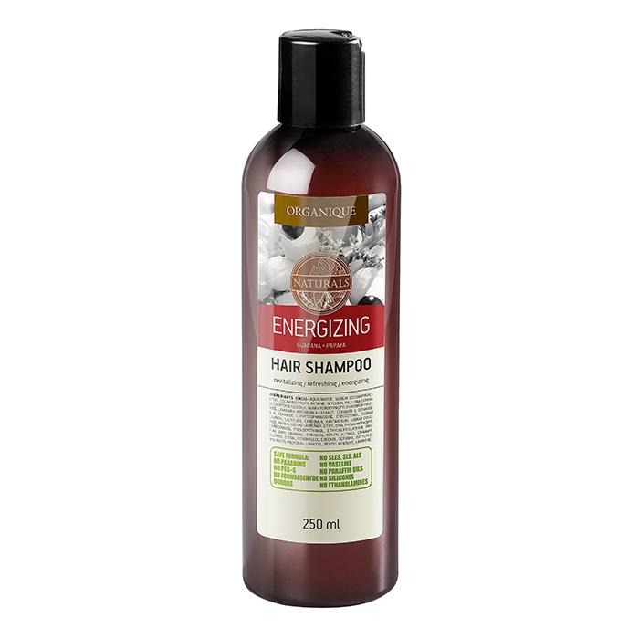 Шампунь Organique Naturals Energizing ревитализирующий против выпадения волос 250 мл