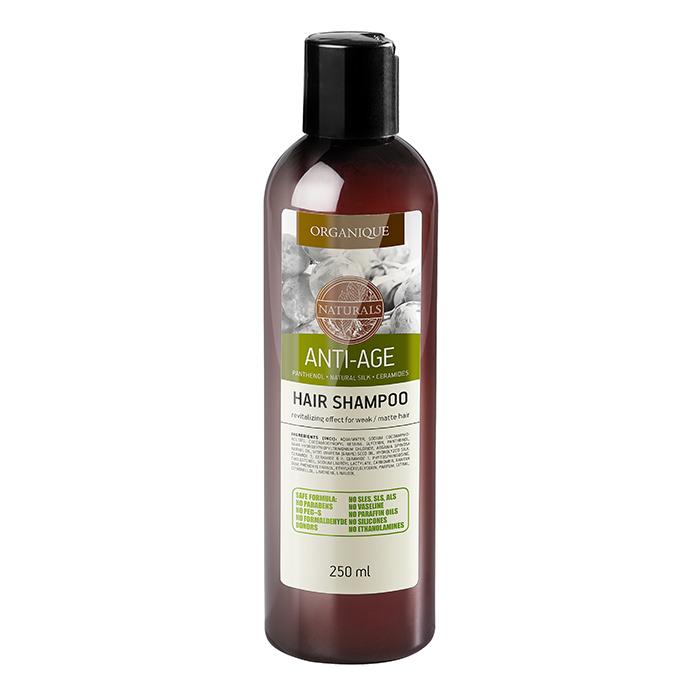 Купить Шампуни Organique, Шампунь Organique Naturals Anti-Age антивозрастной против выпадения волос 250 мл