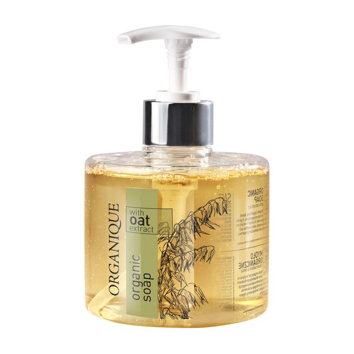 Купить Мыло Organique, Органическое жидкое мыло Organique с экстрактом Овса 330 мл