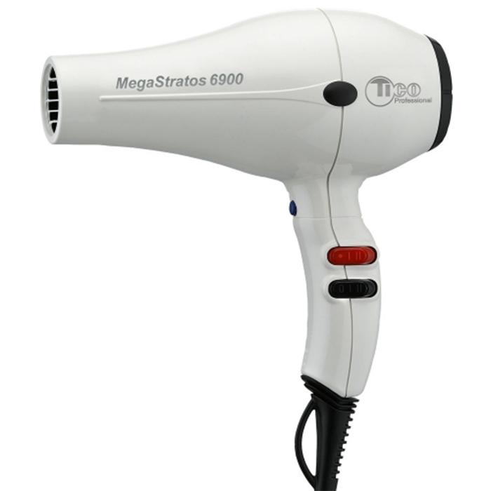 Купить Стандартные фены Tico, Фен для волос Tico 100000WH Mega Stratos 6900 белый