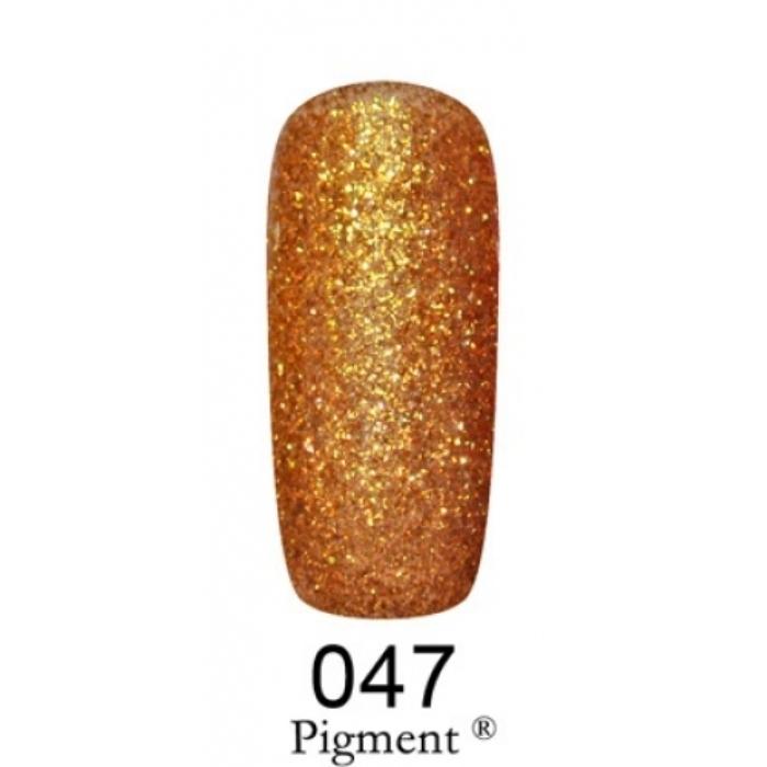 Купить Гель-лаки F.O.X, Гель-лак F.O.X Gold Pigment 047 6 мл