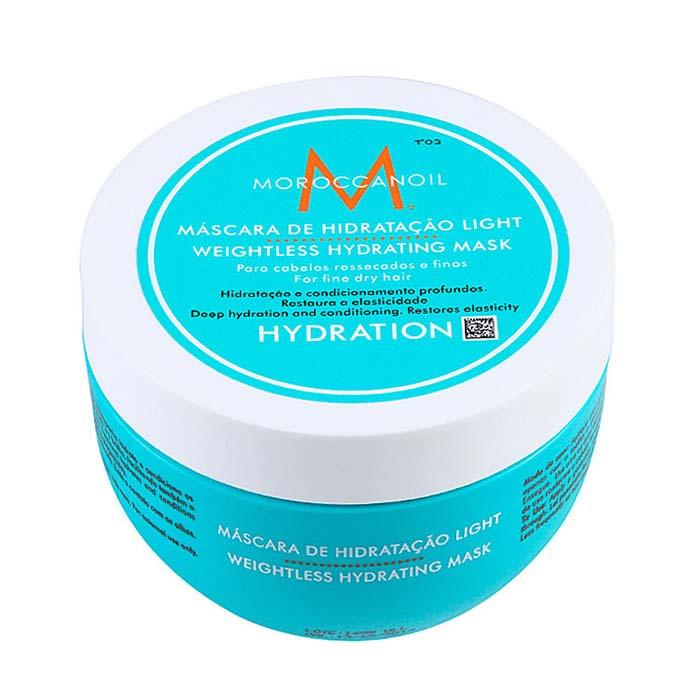 Купить Маски для волос Moroccanoil, Легкая маска Moroccanoil Weightless Hydrating увлажняющая для тонких волос 500 мл