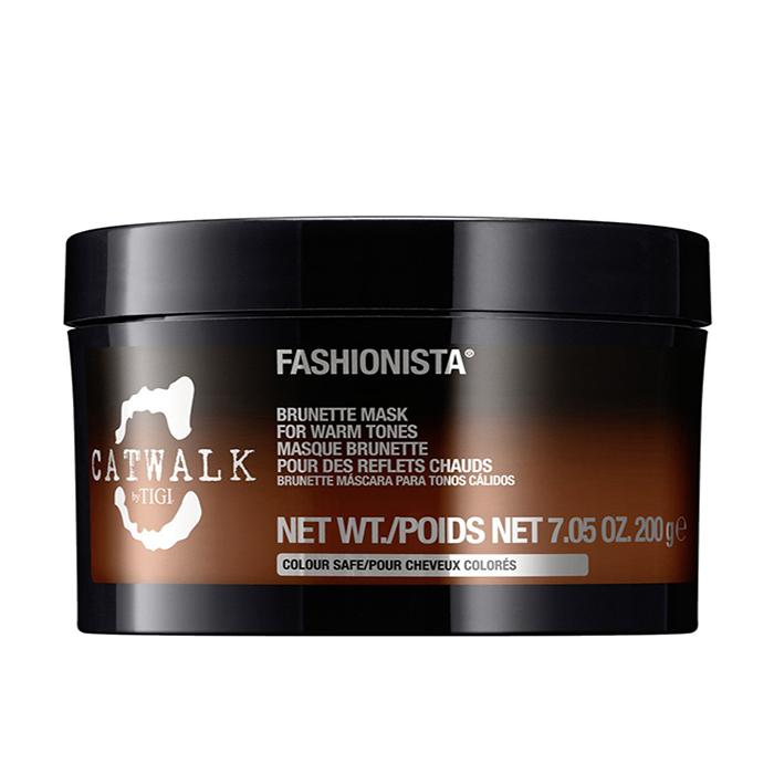 Купить Маски для волос Tigi, Маска для волос Tigi Catwalk Fashionista Brunette тонирующая для брюнеток для теплых оттенков 200 мл
