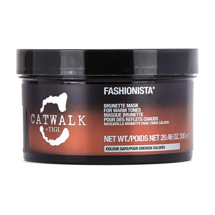 Купить Маски для волос Tigi, Маска для волос Tigi Catwalk Fashionista Brunette тонирующая для брюнеток для теплых оттенков 580 мл