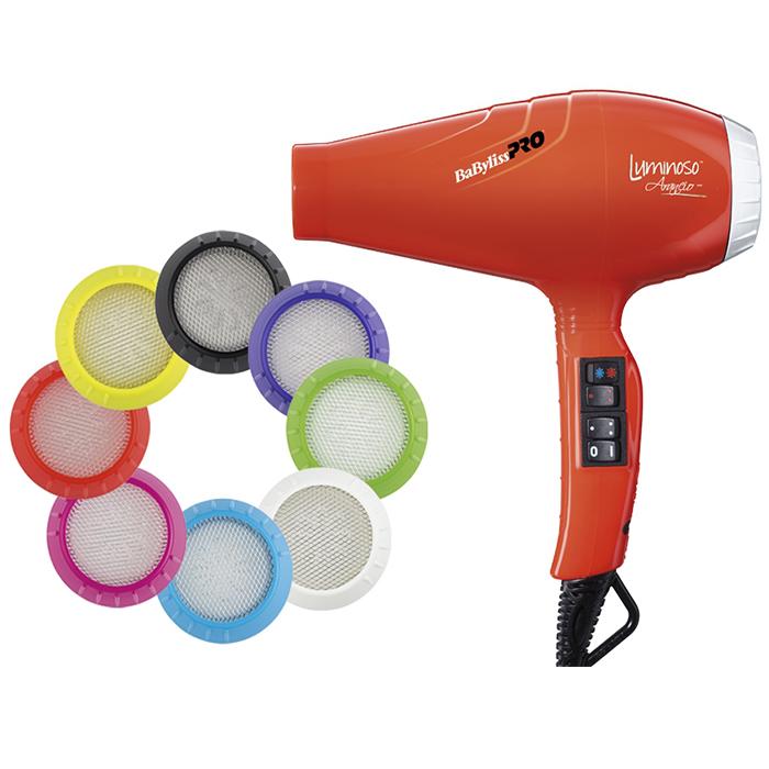Купить Стандартные фены BaByliss, Фен для волос BaByliss BAB6350IOE Arancio Ionic