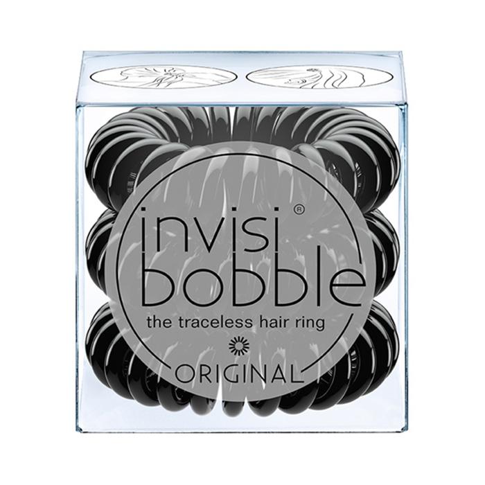 Купить Парикмахерские инструменты Invisibobble, Резинка-браслет для волос Invisibobble Original True Black
