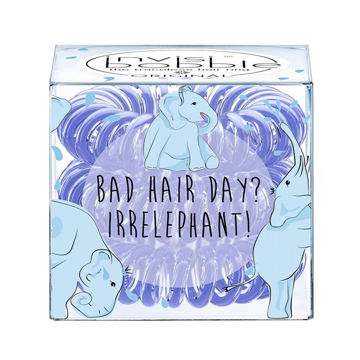 Купить Парикмахерские инструменты Invisibobble, Резинка-браслет для волос Invisibobble Original Bad Hair Day Irrelephant